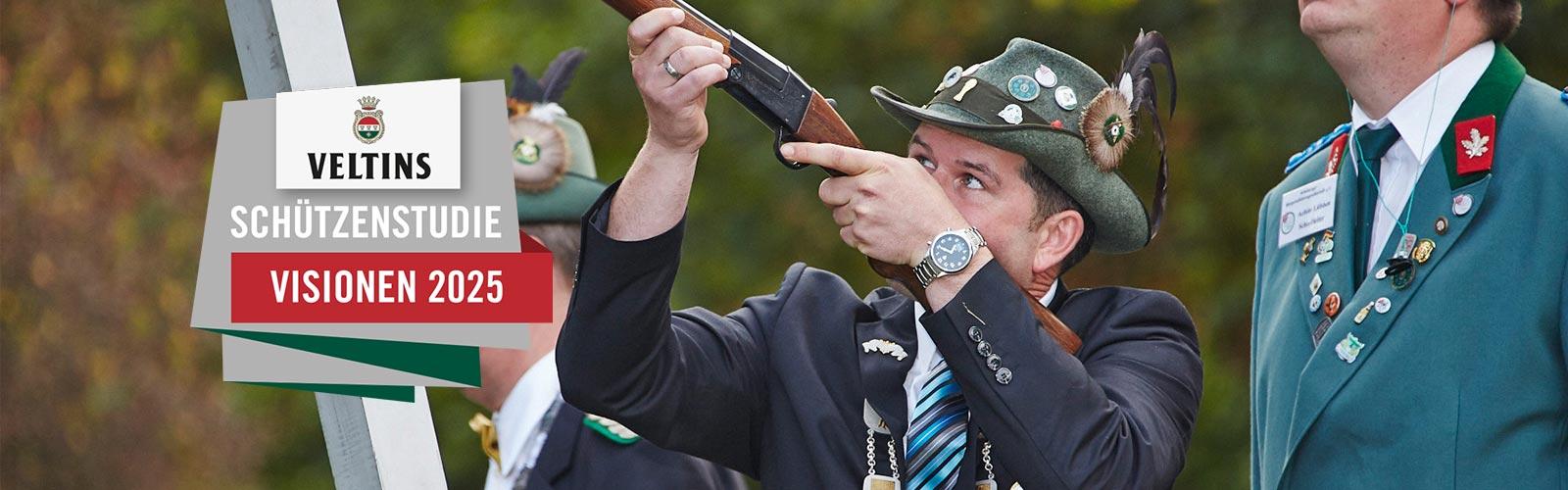 """VELTINS-Schützenstudie """"Visionen 2025"""" Vorstände sprechen offen und ehrlich über ihre Sorgen"""